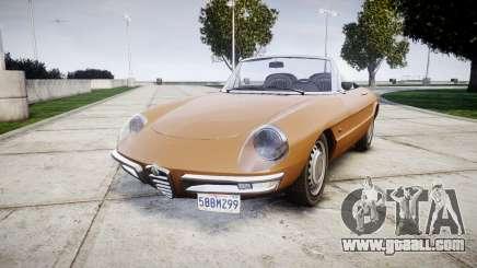 Alfa Romeo Spider 1966 for GTA 4