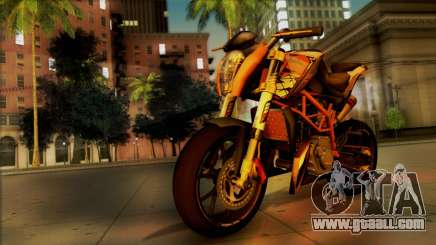 KTM Duke 125 for GTA San Andreas
