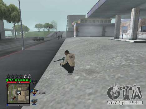 C-HUD by Santi for GTA San Andreas third screenshot
