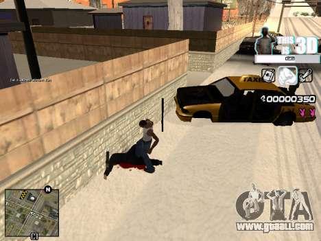 C-HUD 3D for GTA San Andreas second screenshot