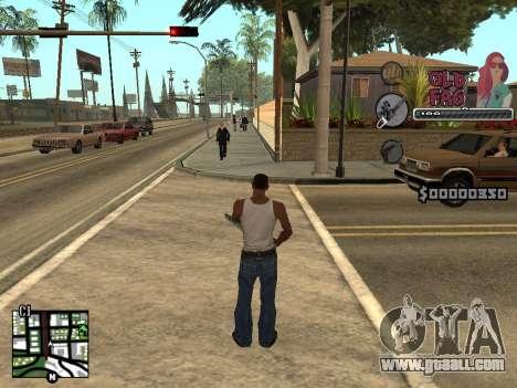 C-HUD Universal v2 for GTA San Andreas