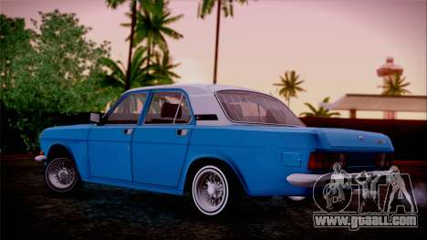GAZ 3102 for GTA San Andreas left view