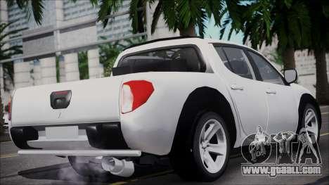 Mitsubishi Triton for GTA San Andreas left view