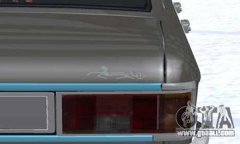 Ikco Peykan Chragh Benzi New for GTA San Andreas side view