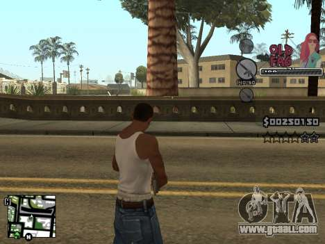 C-HUD Universal v2 for GTA San Andreas fifth screenshot