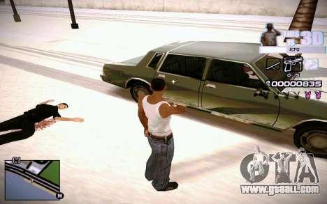 HUD 3D for GTA San Andreas forth screenshot