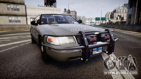 Ford Crown Victoria Sheriff K-9 Unit [ELS] pushe for GTA 4