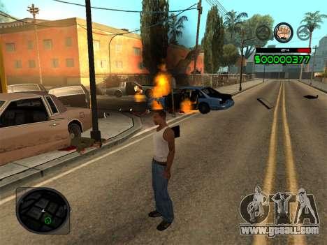 C-HUD by Radion for GTA San Andreas fifth screenshot