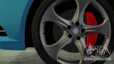 Mercedes-Benz S350 2015 Bluetec for GTA San Andreas back left view