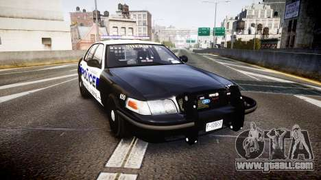 Ford Crown Victoria Police Algonquin [ELS] for GTA 4