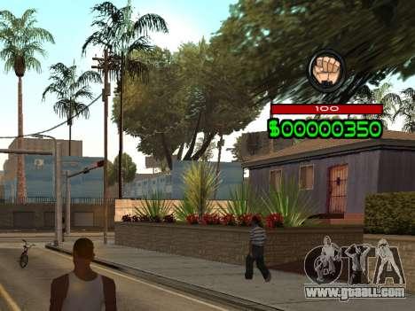 C-HUD by Radion for GTA San Andreas second screenshot