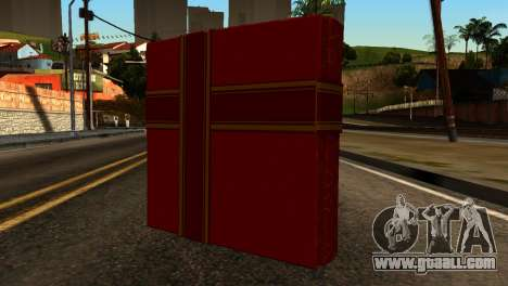 New Year Remote Explosives for GTA San Andreas second screenshot