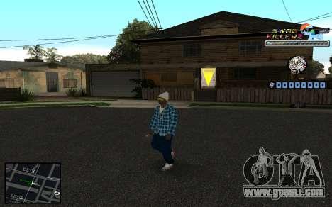 C-HUD SWAG Killerz for GTA San Andreas third screenshot