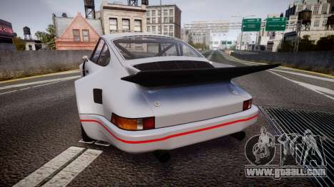 Porsche 911 Carrera RSR 3.0 1974 for GTA 4 back left view