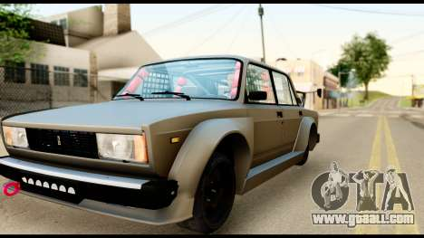 VAZ 2105 Sports for GTA San Andreas right view