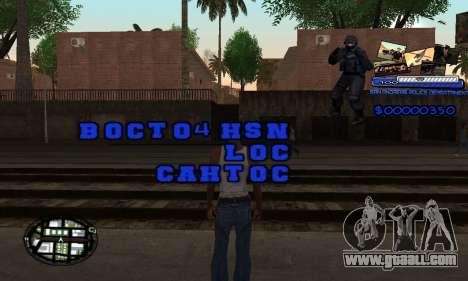 C-HUD SAPD for GTA San Andreas