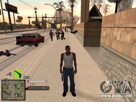 A simple C-HUD for GTA San Andreas third screenshot