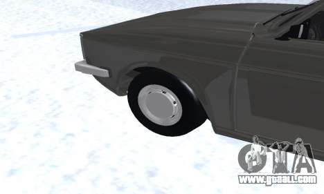 Ikco Peykan Chragh Benzi New for GTA San Andreas bottom view