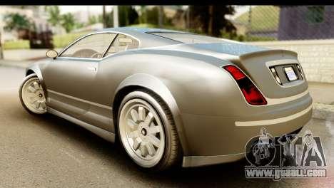 GTA 5 Enus Cognoscenti Cabrio SA Mobile for GTA San Andreas left view