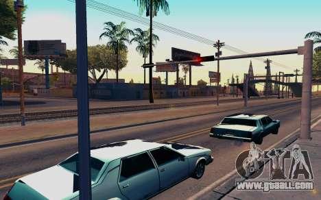 ENB by Dvi v 1.0 for GTA San Andreas second screenshot