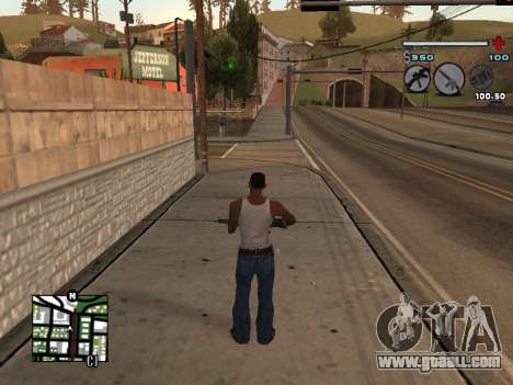 C-HUD Universal v3 for GTA San Andreas