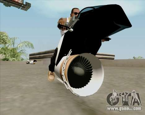 Air bike for GTA San Andreas right view