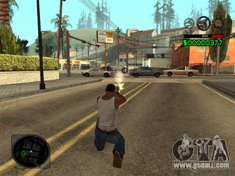 C-HUD by Radion for GTA San Andreas forth screenshot