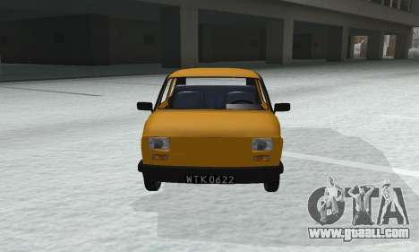 Fiat 126p FL for GTA San Andreas right view