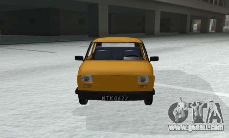 Fiat 126p FL for GTA San Andreas right view