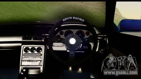 Nissan Skyline R32 Targa for GTA San Andreas back view