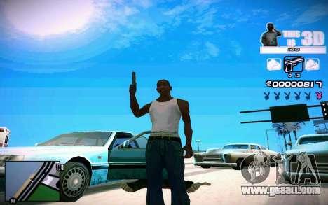 HUD 3D for GTA San Andreas