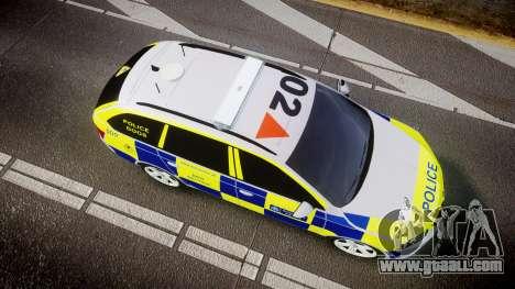 Skoda Octavia Combi vRS 2014 [ELS] Dog Unit for GTA 4 right view