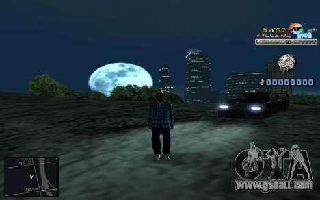 C-HUD SWAG Killerz for GTA San Andreas sixth screenshot