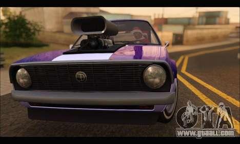 Declasse Rhapsody v2 (Fixed Extra) (GTA V) for GTA San Andreas