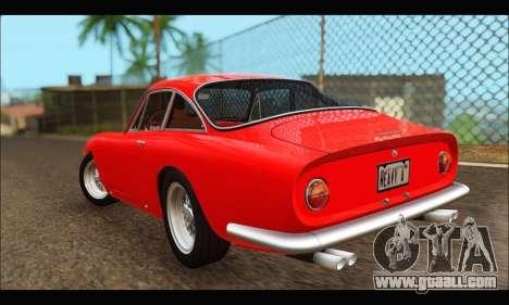 Ferrari 250 GT Berlinetta Lusso 1962 (HQLM) for GTA San Andreas back left view