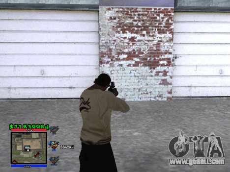 C-HUD by Santi for GTA San Andreas