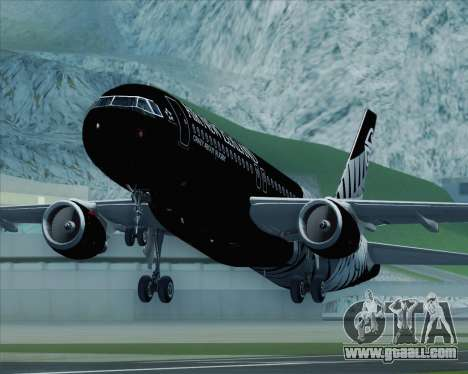Airbus A320-200 Air New Zealand for GTA San Andreas