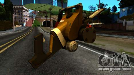 New Chainsaw for GTA San Andreas second screenshot