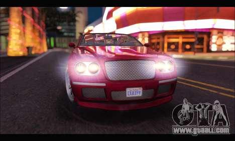 Enus Cognoscenti Cabrio (GTA V) for GTA San Andreas right view