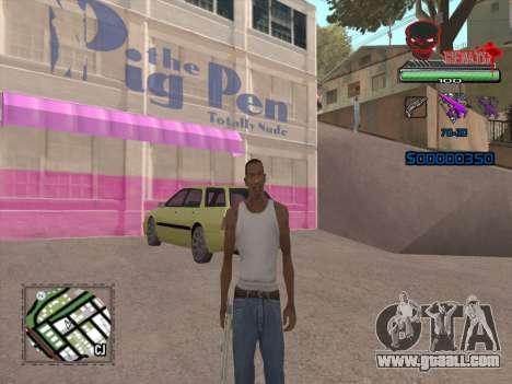 C-HUD by VinC for GTA San Andreas