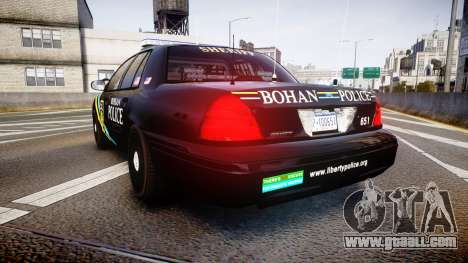 Ford Crown Victoria Sheriff Bohan [ELS] for GTA 4