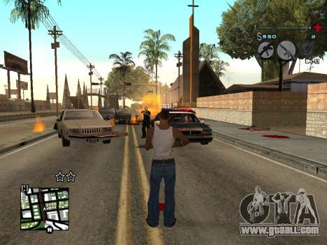 C-HUD Universal v3 for GTA San Andreas third screenshot