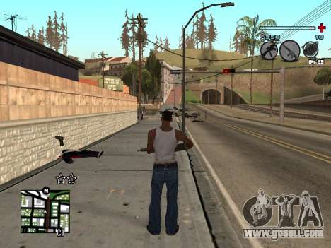 C-HUD Universal v3 for GTA San Andreas second screenshot
