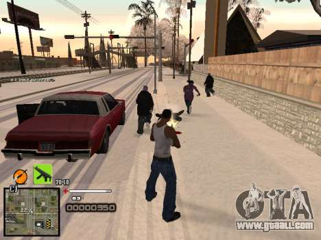 A simple C-HUD for GTA San Andreas forth screenshot