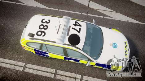 BMW 325d E91 2009 Sussex Police [ELS] for GTA 4