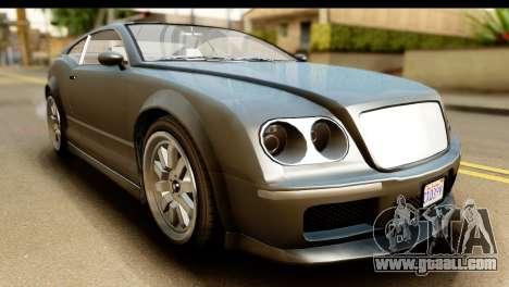 GTA 5 Enus Cognoscenti Cabrio SA Mobile for GTA San Andreas right view