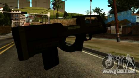 Assault SMG from GTA 5 for GTA San Andreas second screenshot
