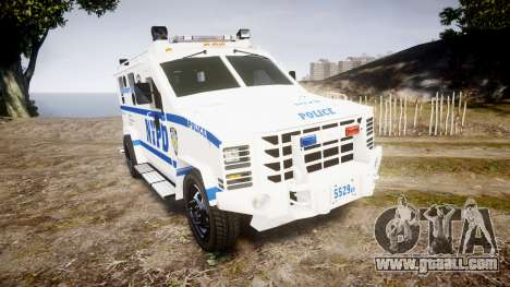 Lenco BearCat NYPD ESU [ELS] for GTA 4