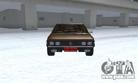 FSO Polonez 2.0X Coupe for GTA San Andreas back view