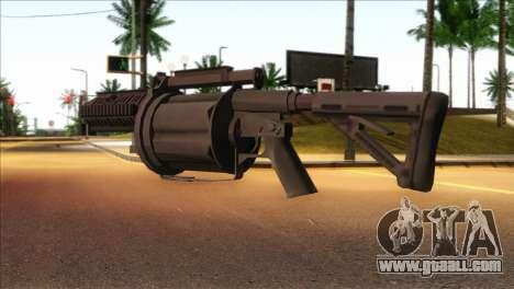 Rocket Launcher from GTA 5 for GTA San Andreas second screenshot